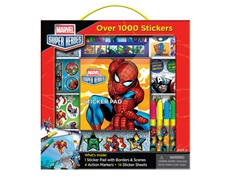 Disney Marvel Super Heros Sticker Box