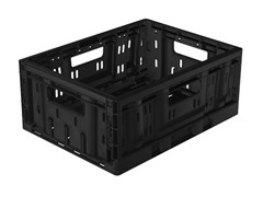 Collapsible Small Crates, 2-Pack