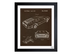 Delorean 1986 (3 Sizes)