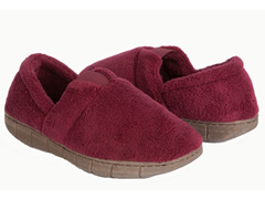 MUK LUKS ® Fleece Espadrille Slipper, Red
