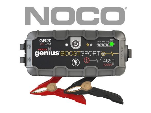 NOCO Genius Boost UltraSafe Lithium Jump Starters (400 Amp or 1,500 Amp)