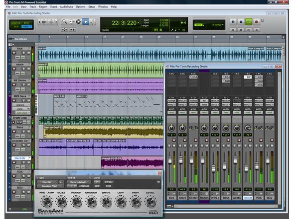 M audio recording studio equipment for Recording studio design software