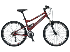 Men's Delta Sport Full Suspension Bike