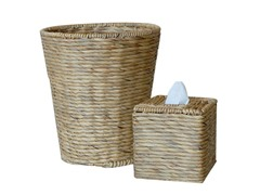 2PC Boutique and Wastebasket Set - Natural
