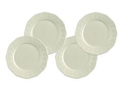 "Paula Deen Whitaker 8"" Salad Plates - 4"