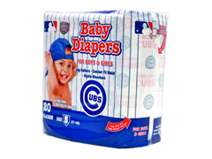 Chicago Cubs Diapers (160-192ct)