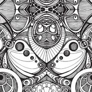 Monochrome Kaleidoscope
