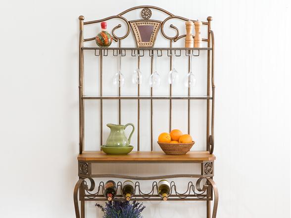 decorative wine rack home amp kitchen