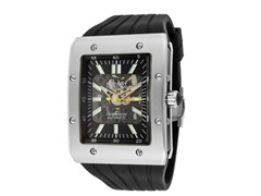 Men's Automatic Black/Silver Watch