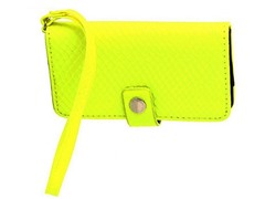 BCBG Nadia Iphone Wristlet, Neon Lime