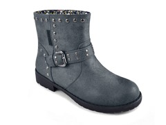 MUK LUKS® Women's Bailee Mid Rise Buckle Boot,Charcoal