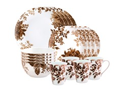 Tatnall Street 16pc Dinner Set - Coffee Bean