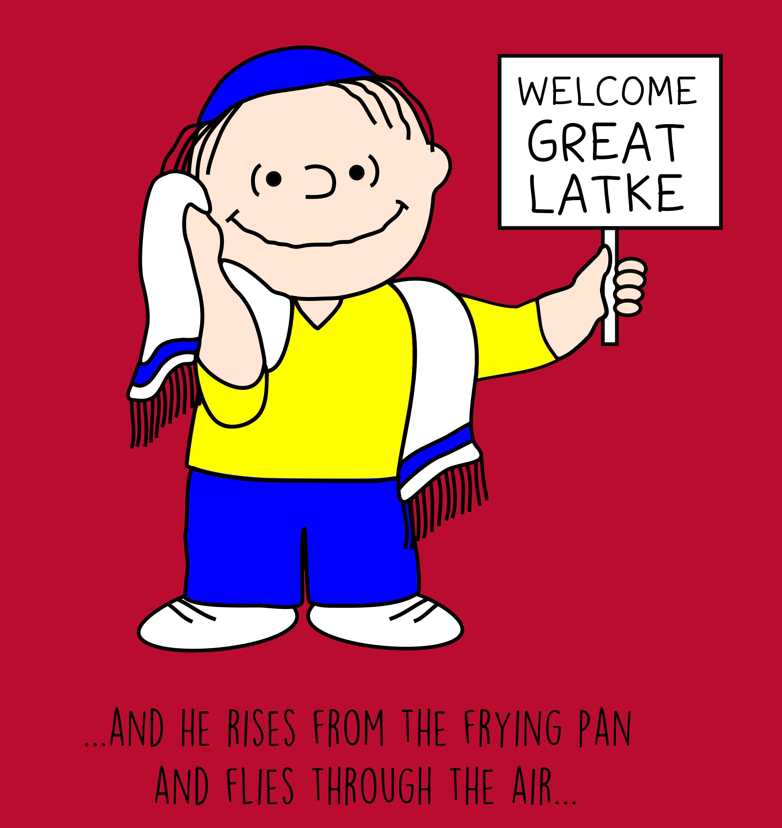 It's the Great Latke!