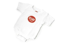 "Wry Baby Bodysuit - ""No Flash Pictures Please!"""