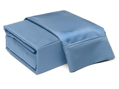 800TC 100% Cotton Sheet Set-Blue-2 Sizes