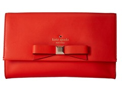 Kate Spade Holly Street Remi Clutch, Maraschino