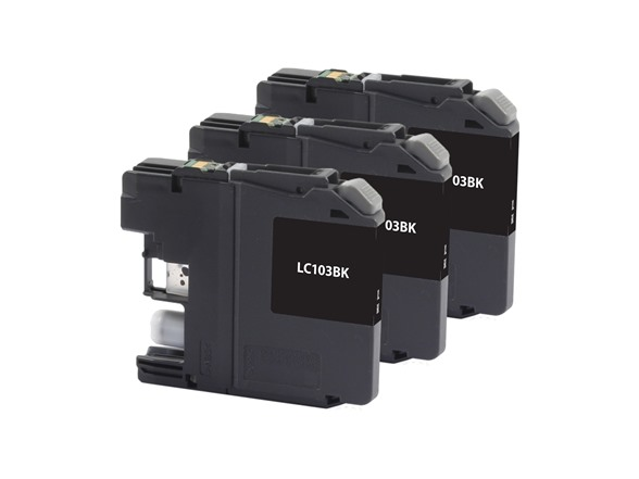 LC-103XL - Black Triple Pack Replacement WT143979A