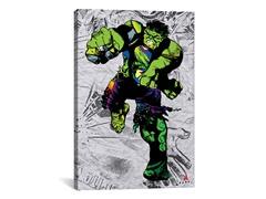 Hulk Super Silhoutte Collage