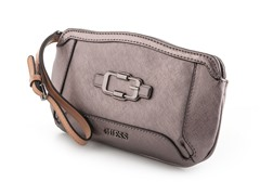 Guess Verdugo Mini Clutch Handbag, Gunmetal