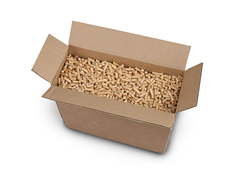 Sawdust Pellets 10 Pound Box