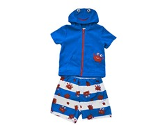 Wippette Blue Crab Swimsuit Set (2T-4T)
