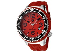 Men's Neptune Watch - Red/Red