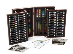 ART 101 156-Piece Art Set in a Wooden Case