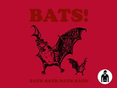 Bats! Pullover Hoodie