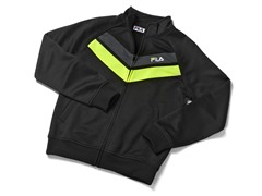 Boys Tricot Track Jacket - Black