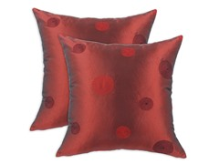 Cirque Merlot 17x17 Pillows-S/2
