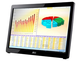 "AOC 16"" USB-Powered Portable LED Monitor"