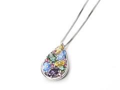 Swarovski Element Teardrop Pendant