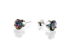 La Rochelle Genuine Mystic Topaz Earrings