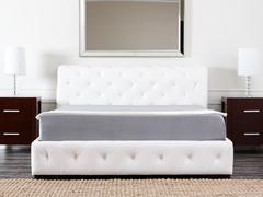 Mandalay Bonded Leather Bed (3 Sizes)