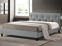 Annette Linen Bed - Queen - 2 Colors