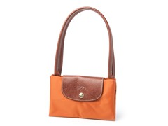 Longchamp Le Pliage Shopping Handbag, Orange