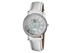 Women's Crystal Watch, White