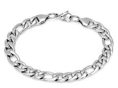 Stainless Steel Figaro Bracelet