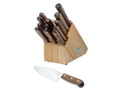 Walnut Tradition 14-Piece Knife Set