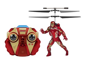 Marvel 2CH IR RC Helicopter w/Remote - 4 Characters!