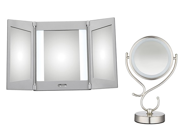 Conair Vanity Mirror Light Bulb : Conair LED Vanity Mirrors, Your Choice