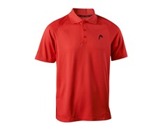 Net Performance Polo - Neon Red