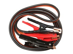 Jumper Cables with Extended Clamps, 500-AMP