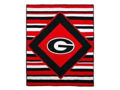 University of Georgia Quilted Throw