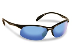 Breaker Polarized, Black/Smoke-Blue