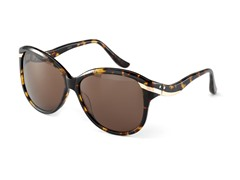 Birdie Sunglasses, Brown Marble