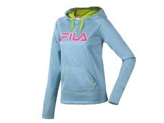 Fila Women's Contrast Hoody, Ocean (XS)