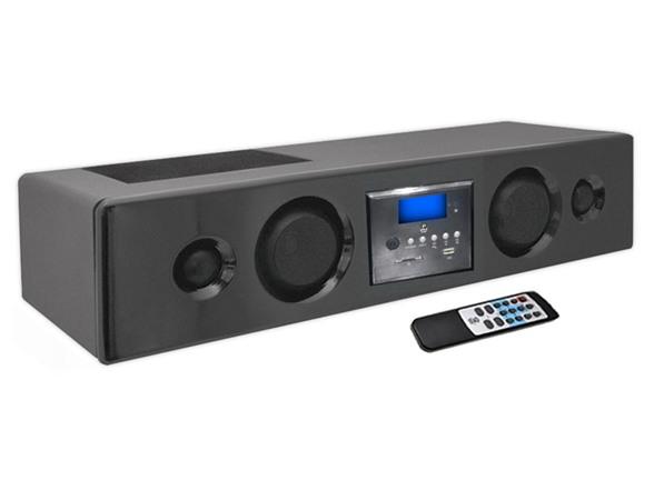 300w bluetooth soundbar w usb sd fm for Enceinte bluetooth salon
