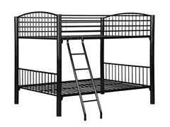 Black Econo Bunk Bed- Full