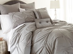 Ella 8-Pc Comforter Set-Grey-2 Sizes